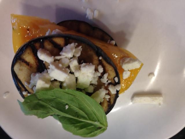 Stacked Eggplant