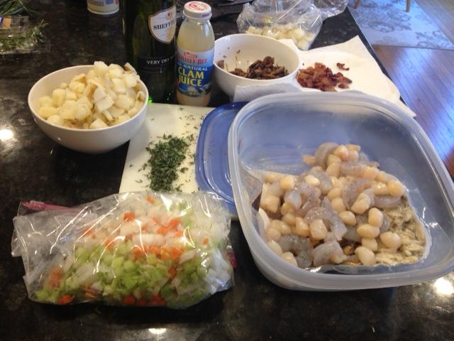 seafood chowder 2