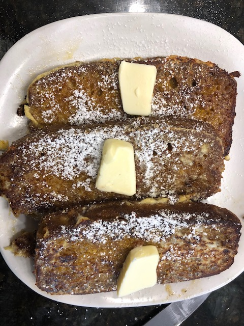 Pumkin Bread French Toast