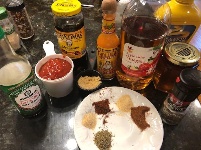 BBQ sauce 1