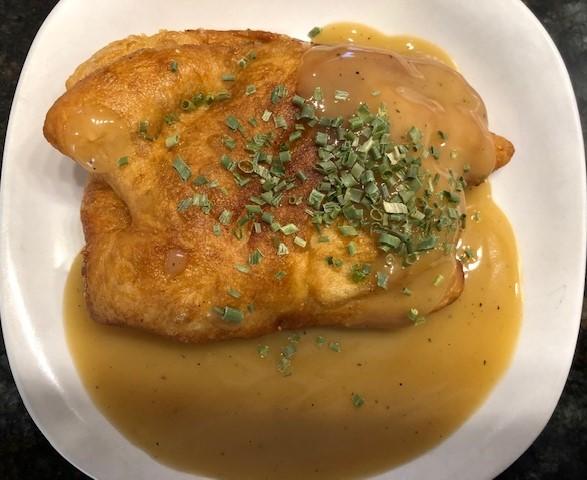 fried chicken pot pie
