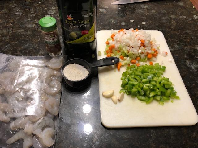 Shrimp etouffe 2