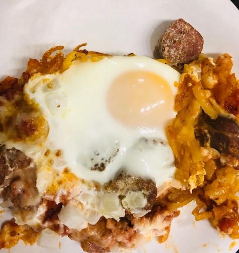 Southwest hashbrown casserole 1